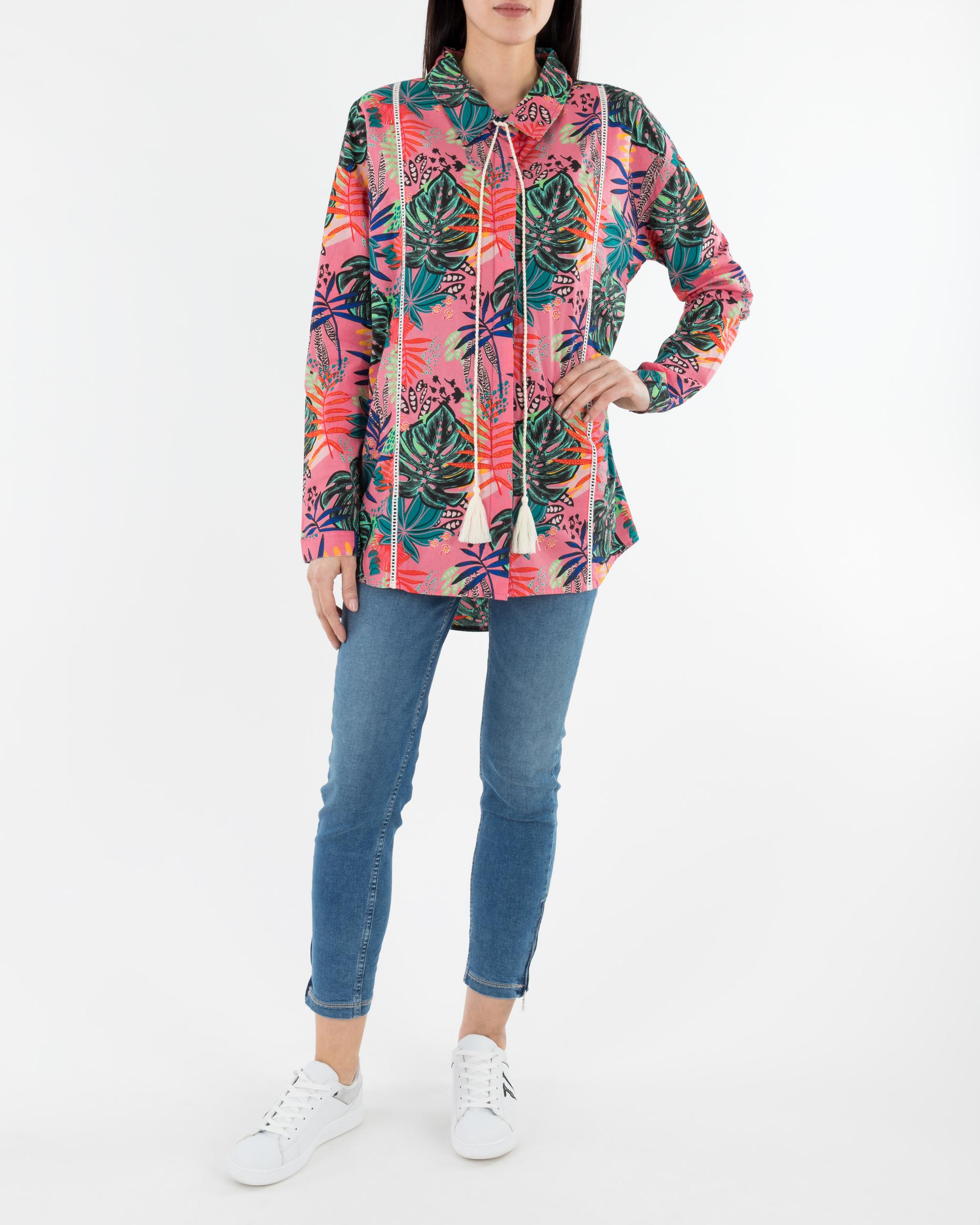 16e2dbb17dd3bb Koszula Femi Stories MENES_PLV różowy - Royal Collection - Odziez ...