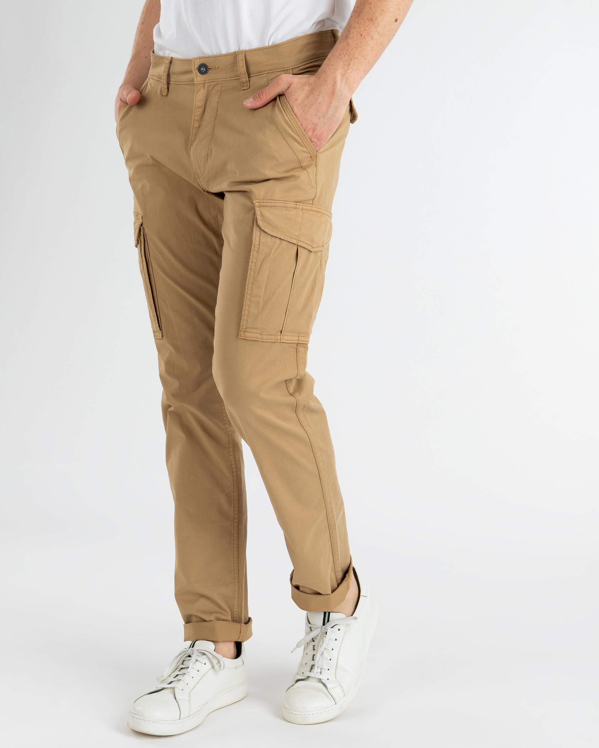 całkiem miło Najnowsza moda Pierwsze spojrzenie Spodnie Napapijri N0YISP_NB4 beżowy - Royal Collection ...