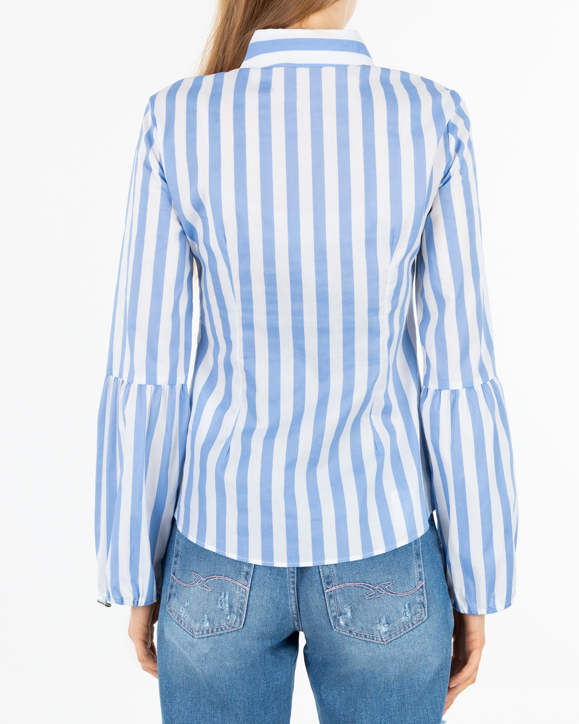 54bb8d3173 Koszula Trussardi Jeans 56C00189 1T002304 U120 niebieski - Royal Collection  - Odziez damska i męska