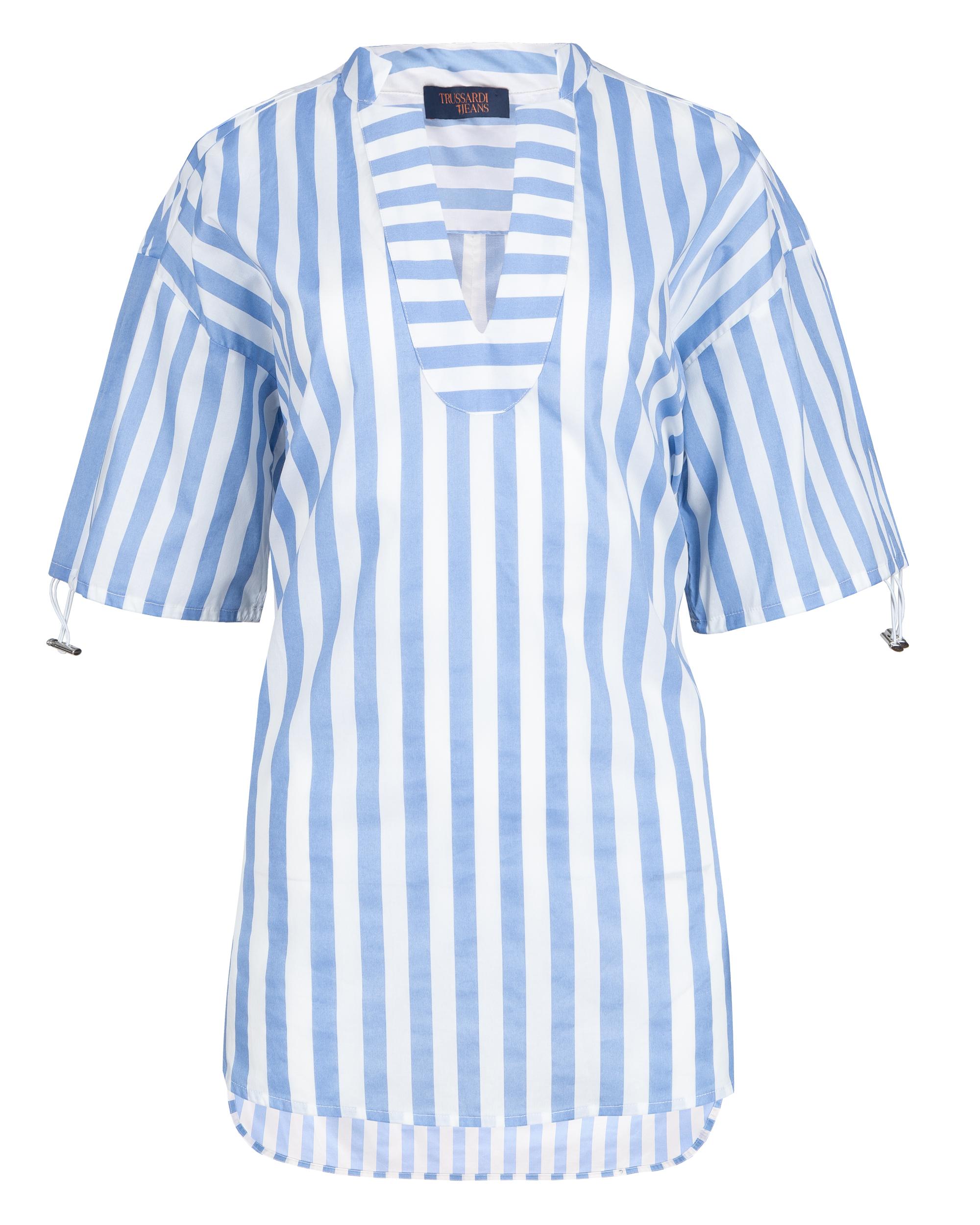 f11cb24d71 Bluzka Trussardi Jeans 56C00193 1T002304 U120 niebieski - Royal Collection  - Odziez damska i męska