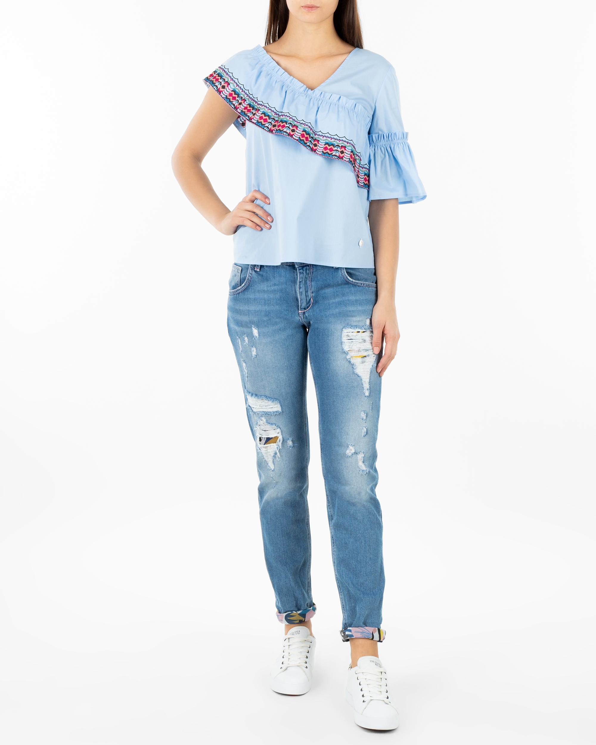 c784ee35c3 Bluza Trussardi Jeans 56C00194 1T002281 U140 niebieski - Royal ...