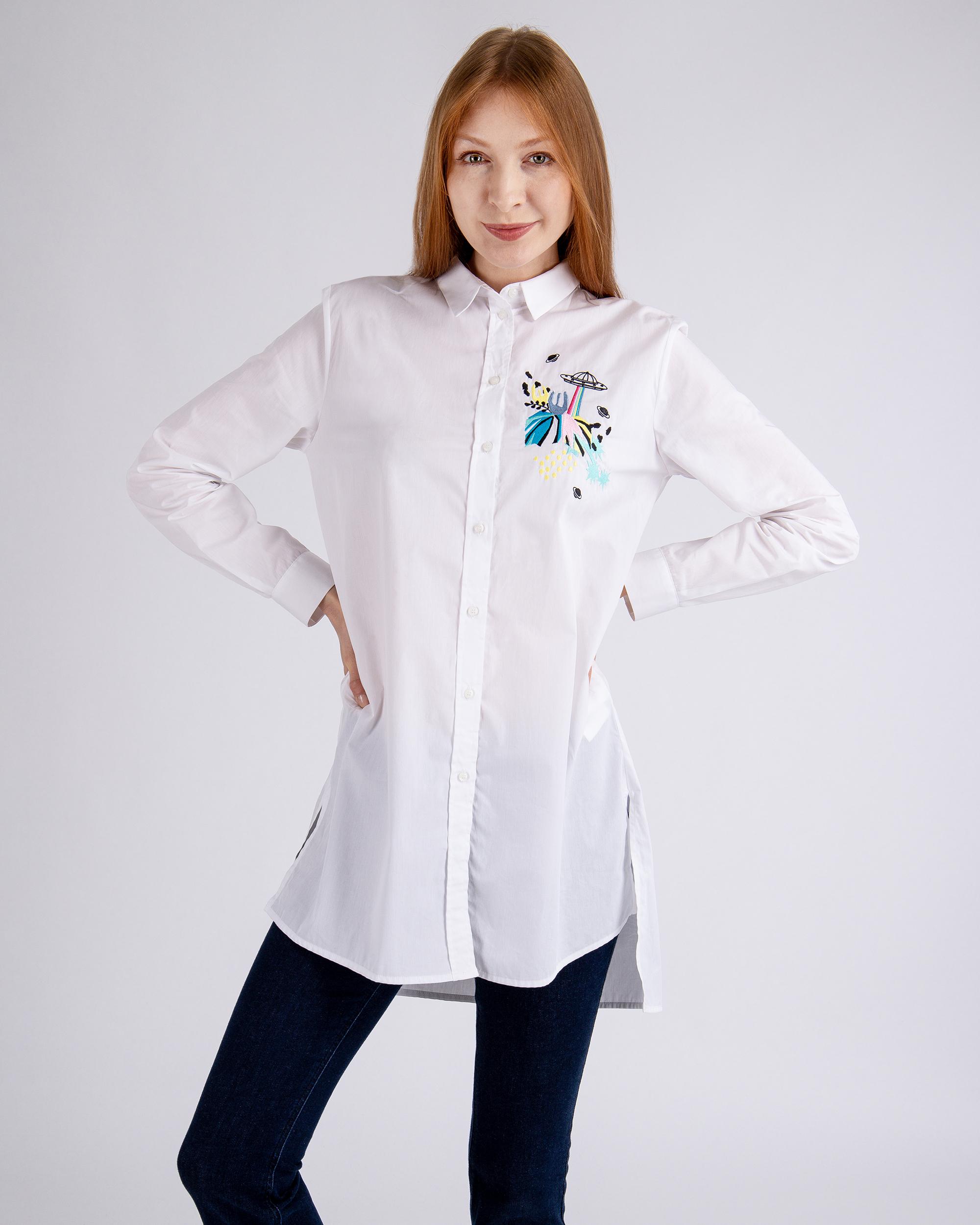 3f792830e28744 Koszula Trussardi Jeans 56C00167_1T002287_W001 biały - Royal ...