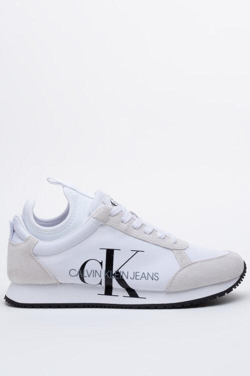 Buty Calvin Klein B4R0825001_JOSSLYN_100 biały