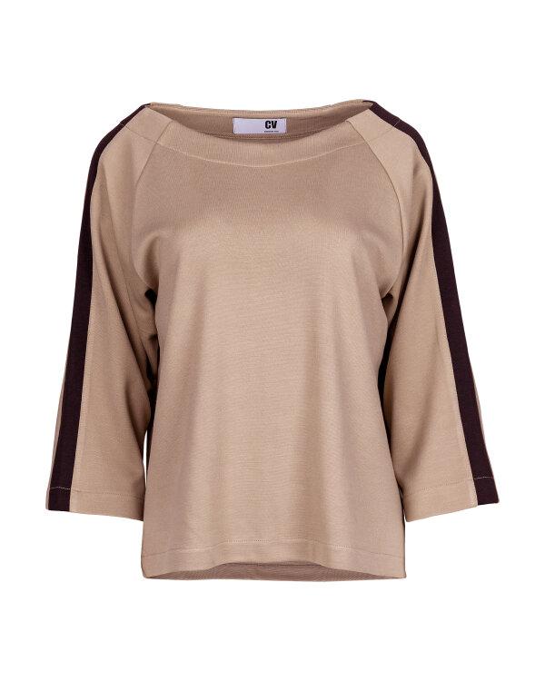 BLUZA CV W-BLO1-0095_CAMEL brązowy