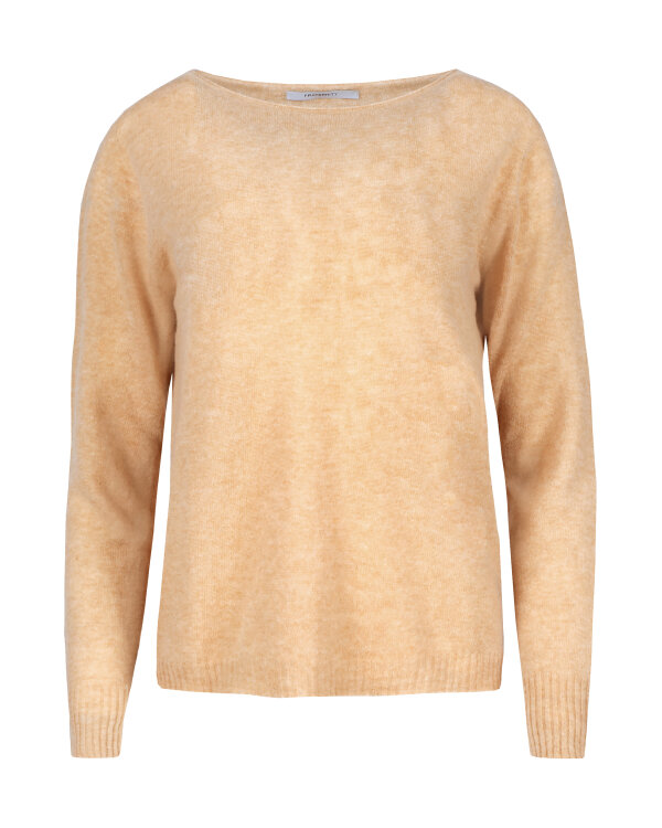 SWETER Fraternity JZ18_1643_BEIGE beżowy