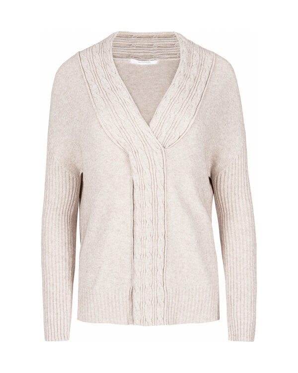 SWETER Fraternity JZ18_2644_BEIGE beżowy
