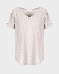 T-Shirt Fraternity WL20_W-TSH-0061_BEIGE beżowy- fot-0