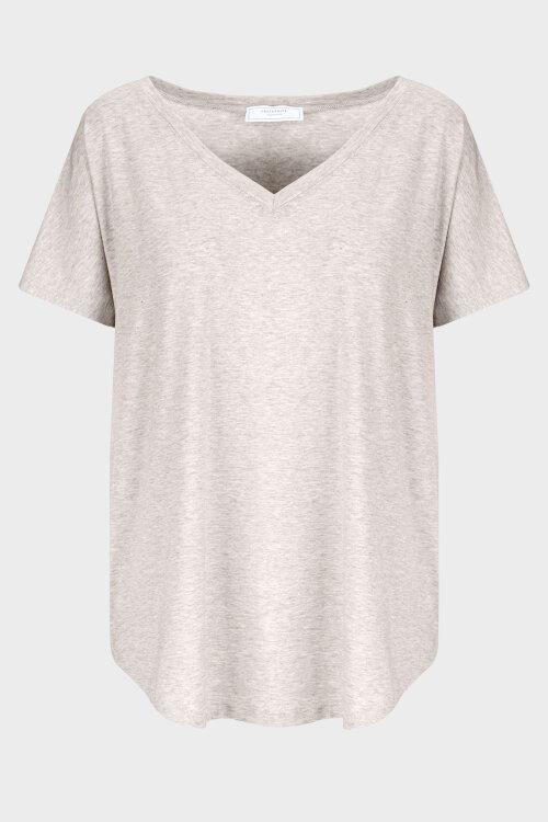 T-Shirt Fraternity Wl20_W-Tsh-0061_Beige Beżowy Fraternity WL20_W-TSH-0061_BEIGE beżowy