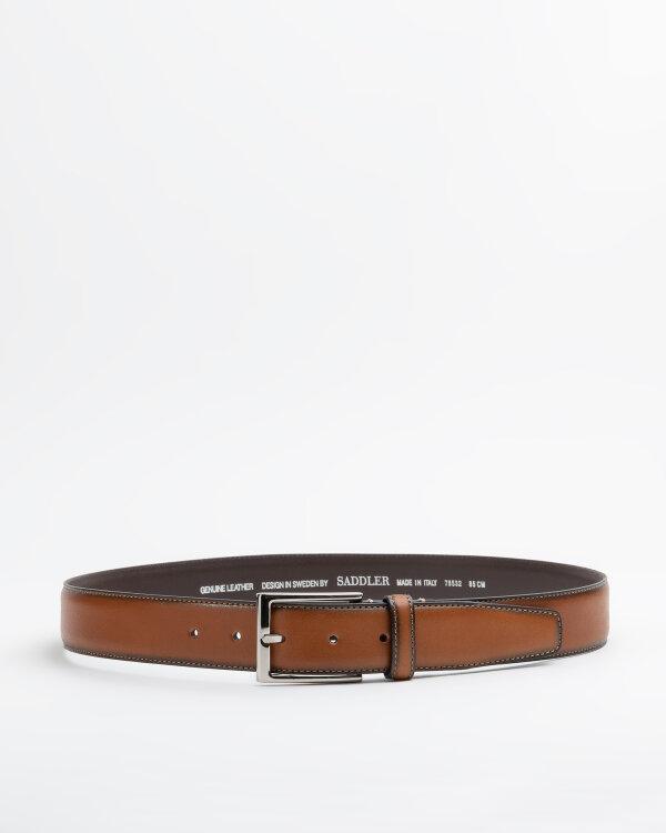 Pasek Saddler 785320008_LT.BROWN brązowy