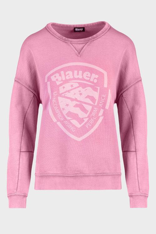 Sweter Blauer 20SBLDF03384_536 różowy