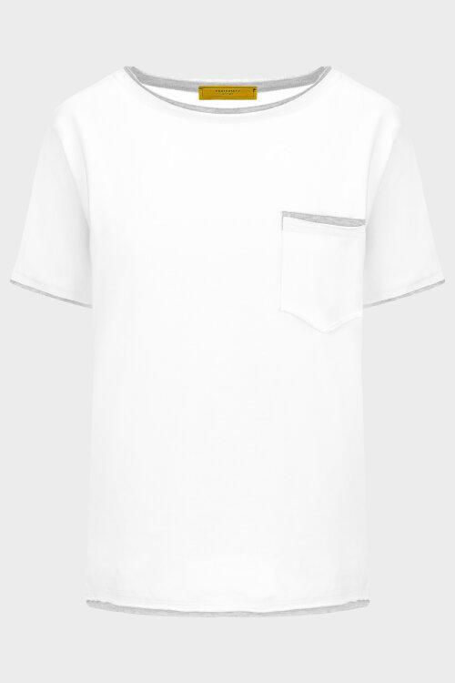 Bluza Fraternity NOS_W-TSH-0046 NOS_OFF WHITE/GREY kremowy