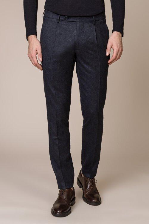 Spodnie Berwich VD2108_BLUE granatowy