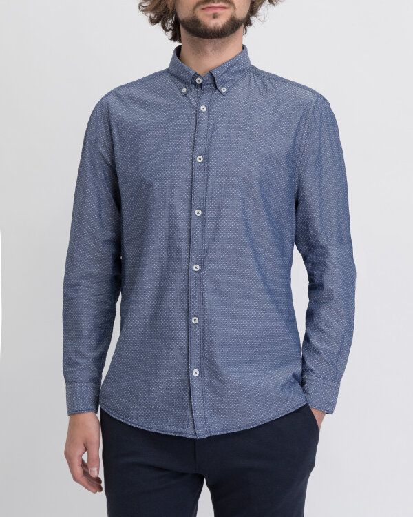 Koszula Pioneer Authentic Jeans 04207_07242_587 niebieski