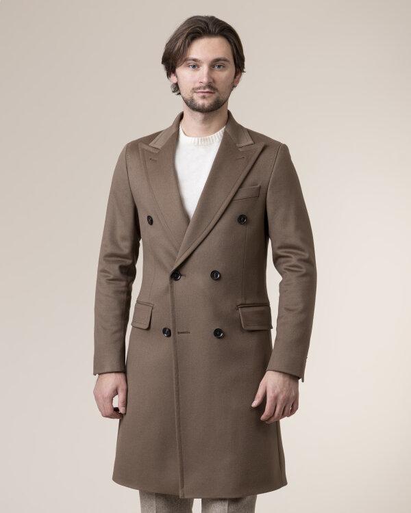 Płaszcz Oscar Jacobson PENLEY 7149_5320_403 brązowy
