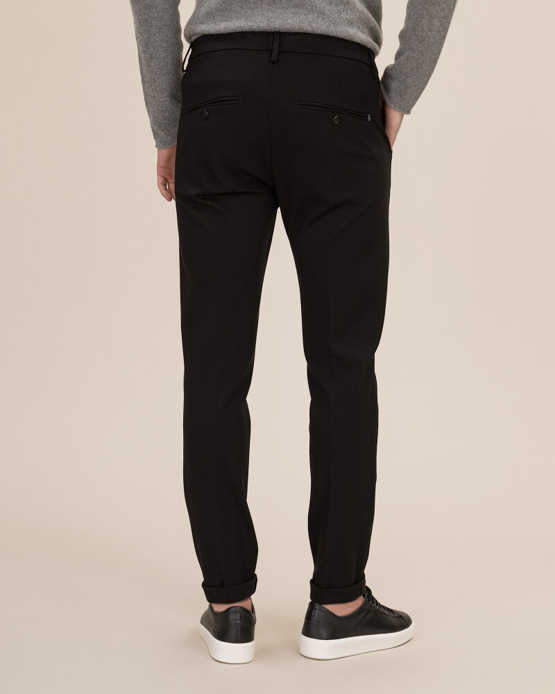 Spodnie Dondup UP235_JS0108U_999 czarny - fot:3