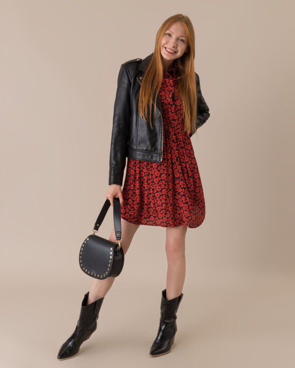Sukienka Trussardi Jeans 56D00320_1T003073_K512 czerwony