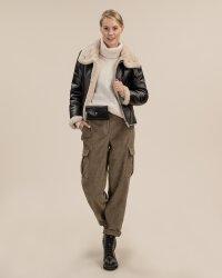 Spodnie Fraternity JZ19_W-TRO-0151A_KHAKI moro- fot-