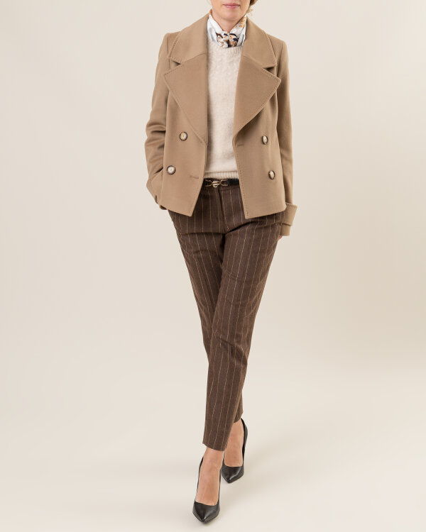 Spodnie Cavaliere 20HV19114_Mya_50 brązowy