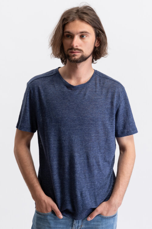 T-Shirt Baldessarini 05273_47351_782 granatowy