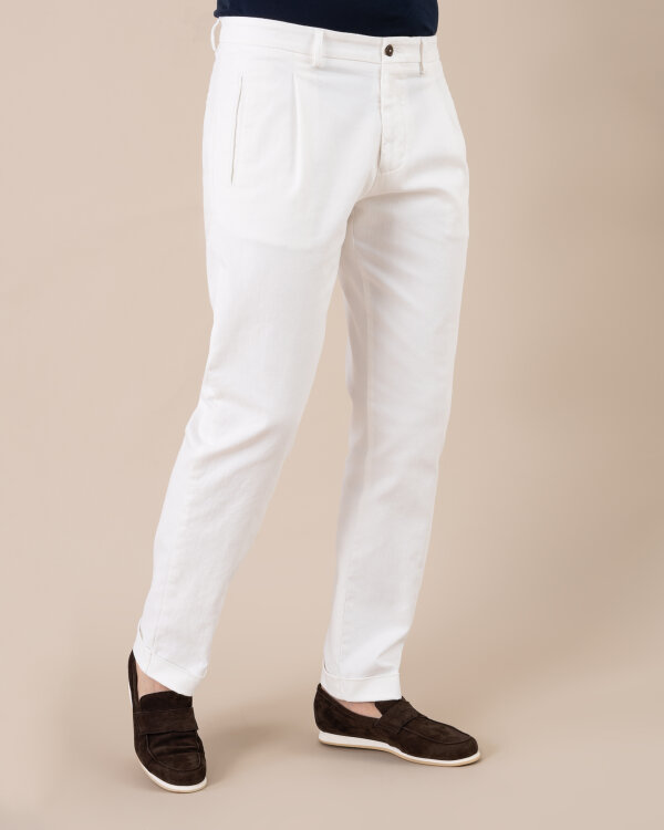 Spodnie Berwich CK005X_W800 kremowy