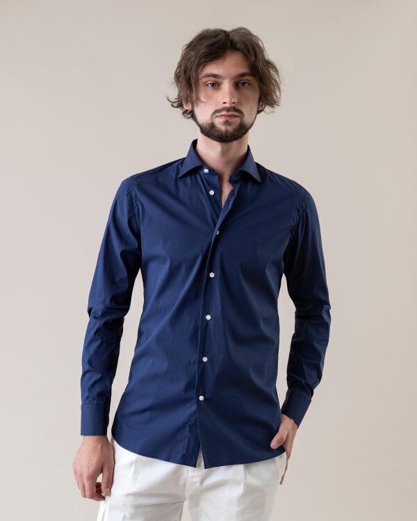 Koszula Borriello 8011/7_ granatowy