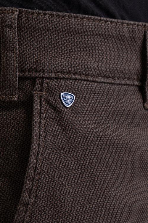 Spodnie Brühl Parma_0319184110100_560 brązowy