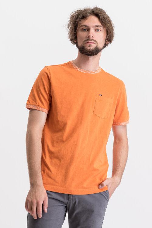 T-Shirt Bugatti 35010_0 8351_670 pomarańczowy