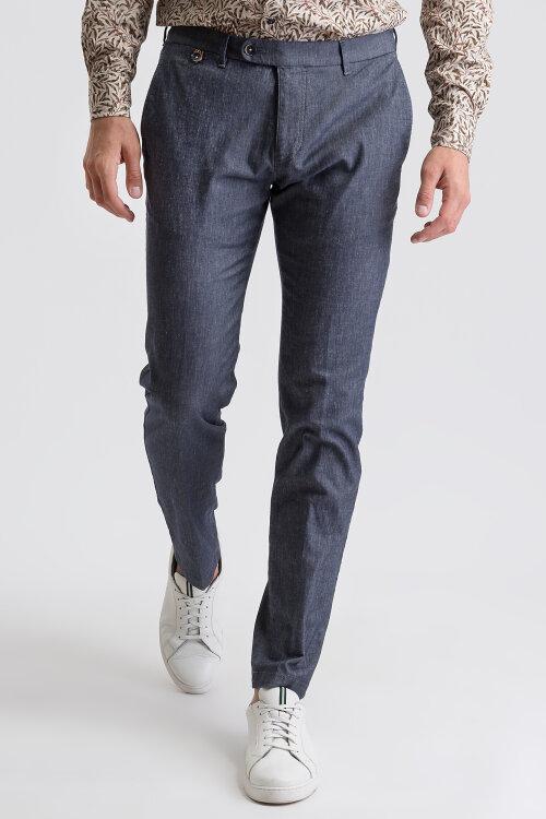Spodnie Bugatti 36165_5 4900_350 niebieski
