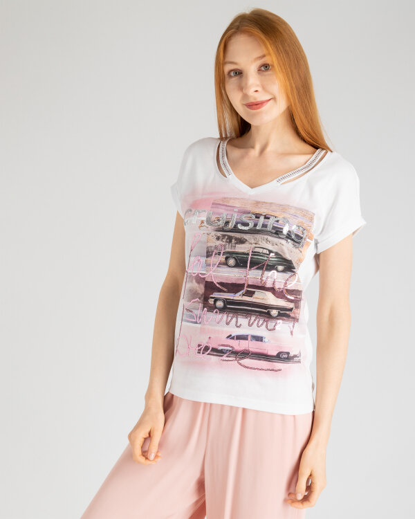 T-Shirt Campione 1582103_121135_279 biały