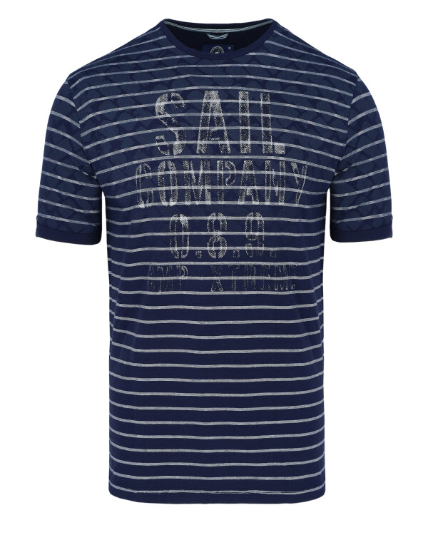 T-Shirt Campione 1097503_111130_79411 granatowy