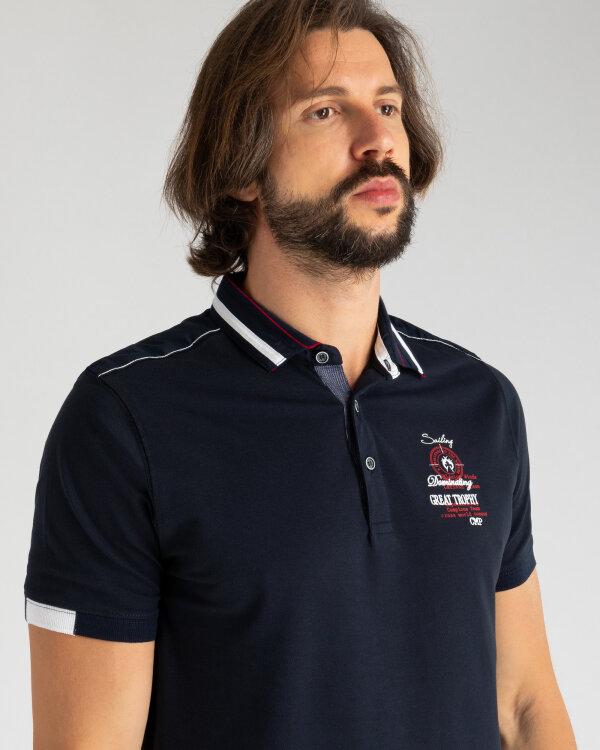 Polo Campione 1097002_111120_85400 granatowy