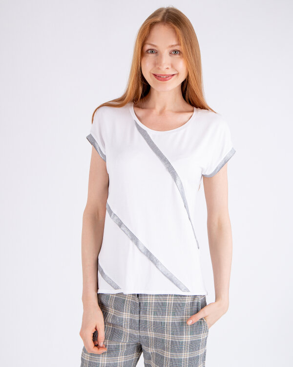 T-Shirt Campione 1872704_121135_90200 biały