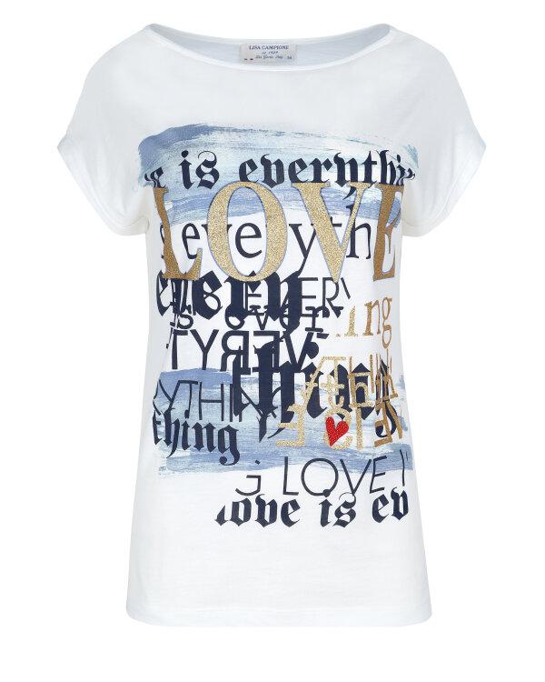T-Shirt Campione 1582306_121135_22393 biały