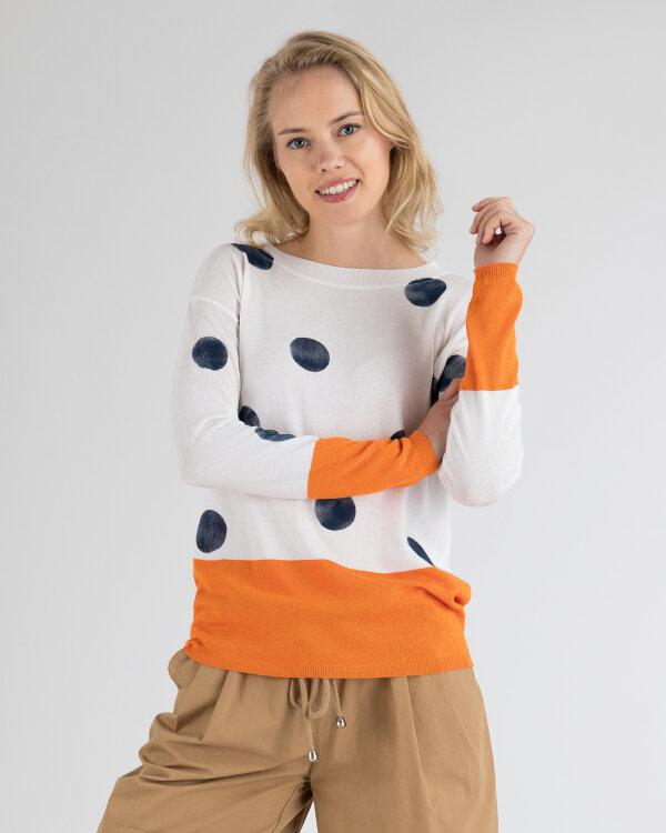 Sweter Campione 1392502_121010_79411 pomarańczowy
