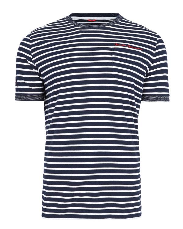 T-Shirt Campione 1917011_111130_85411 granatowy