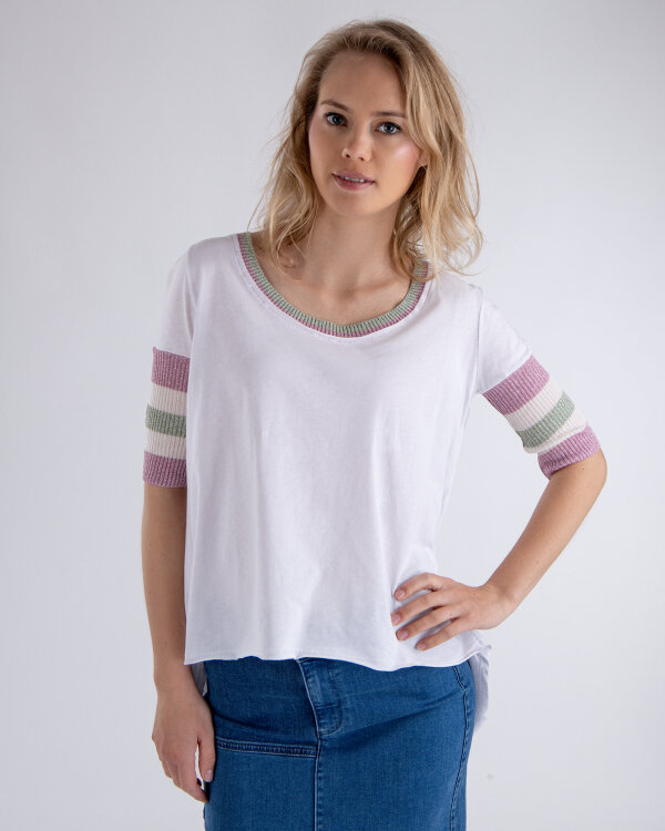 T-Shirt Campione 1262402_121130_10000 biały