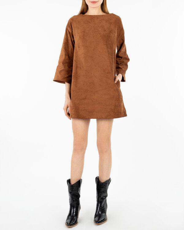 Sukienka Cv JZ18_W-DRE-0379_CONIAC brązowy