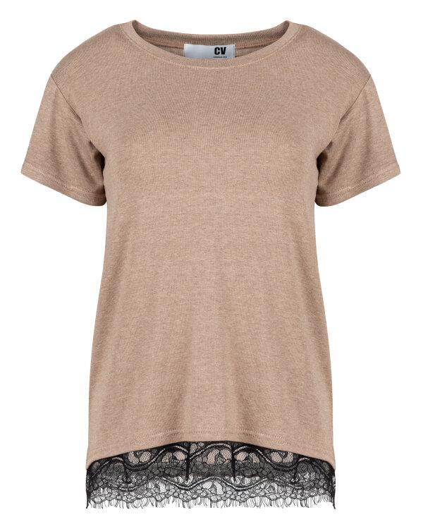 T-Shirt Cv W-TSH-0075_CAMEL beżowy