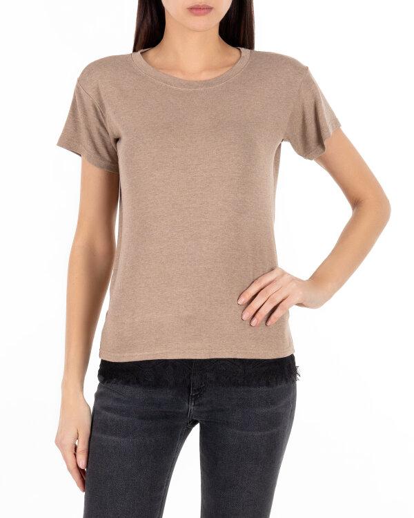 T-Shirt Cv JZ18_W-TSH-0075_CAMEL beżowy