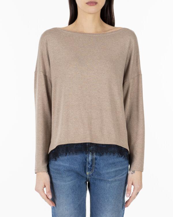 Sweter Cv JZ18_W-SWE-0175_CAMEL brązowy