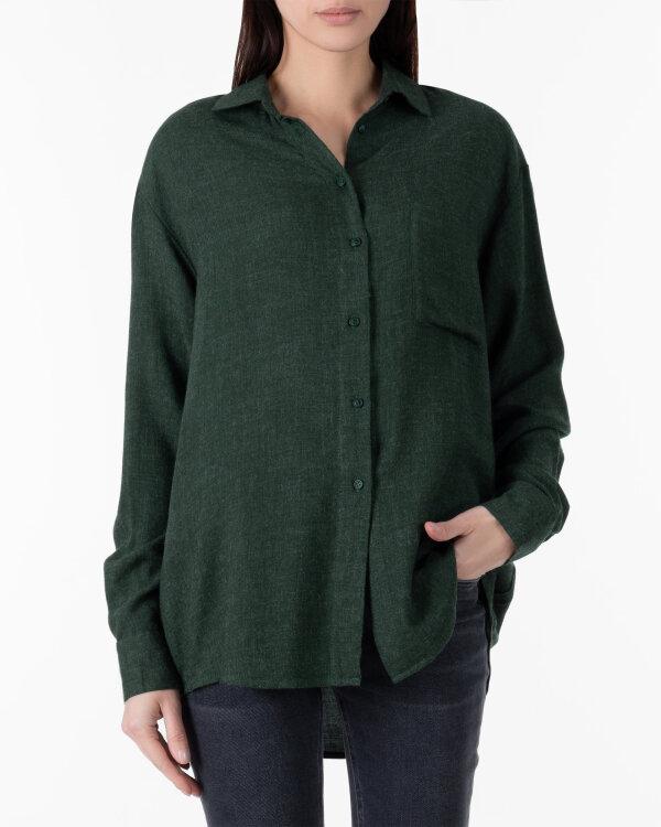 Koszula Cv JZ18_W-SHI-0046_DARK GREEN zielony