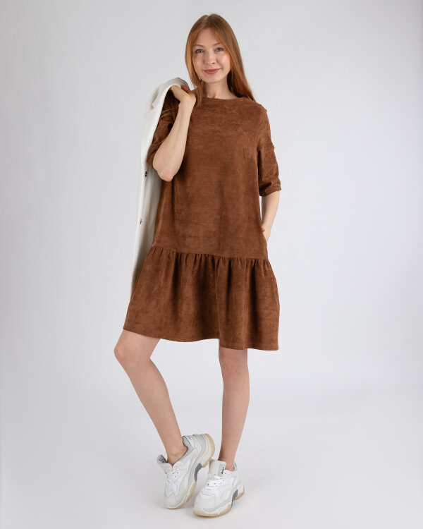 Sukienka Cv JZ18_W-DRE-0377_CONIAC brązowy
