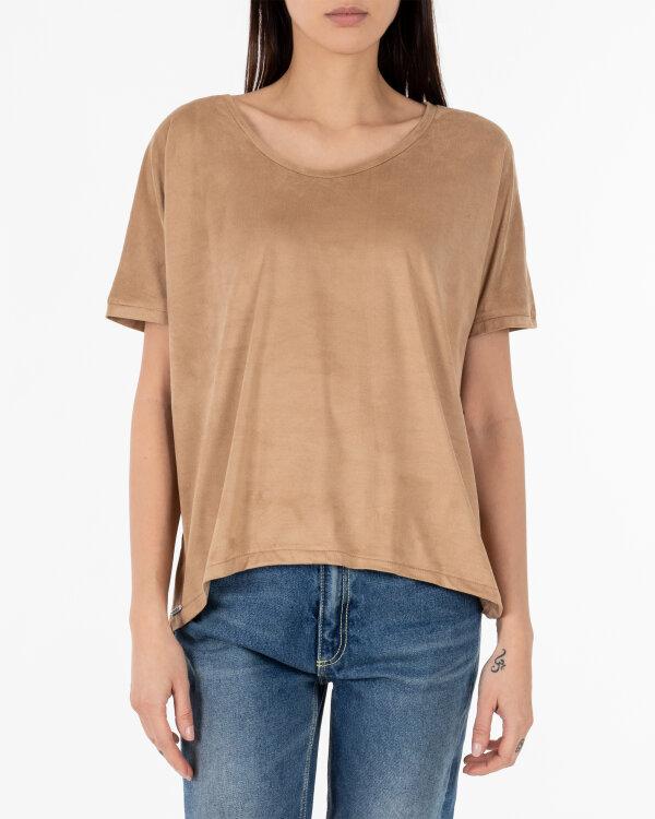 T-Shirt Cv W-TSH-0074_CAMEL brązowy