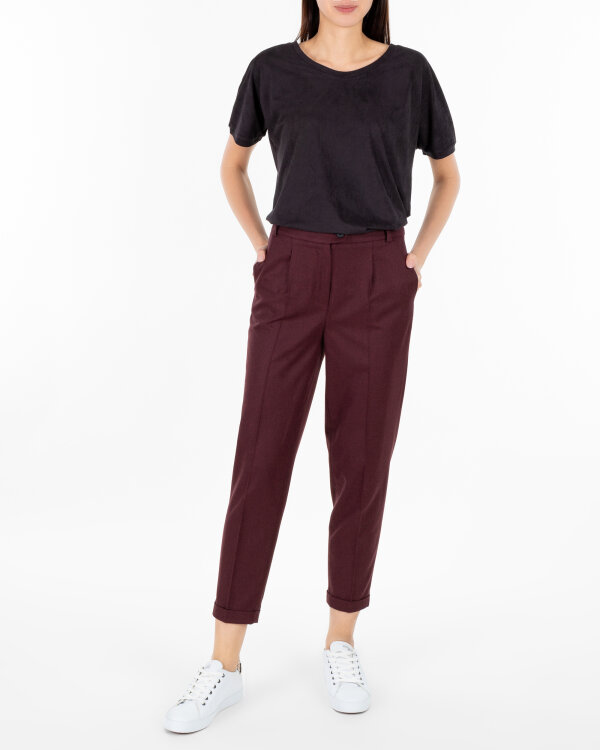 Spodnie Cv JZ18_W-TRO-0135_BORDO bordowy