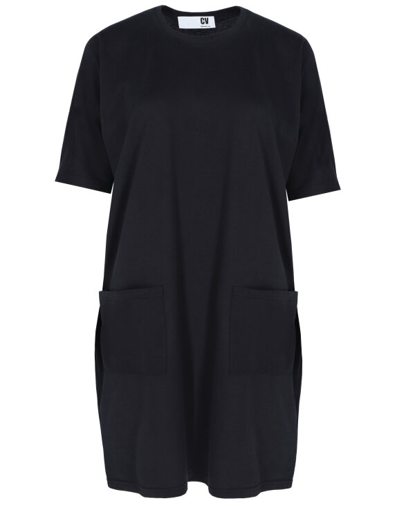 Sukienka Cv W-DRE-0195_BLACK czarny