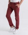 Spodnie Digel LGN_0088140_062 bordowy