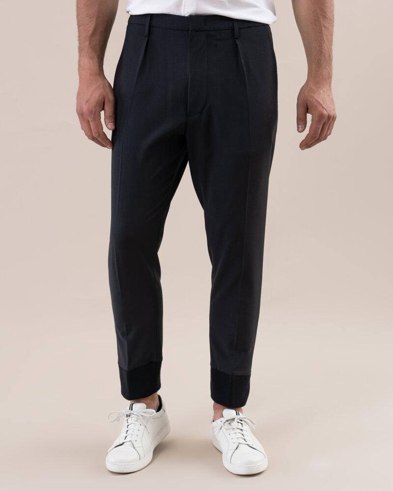 Spodnie Dondup UP485_WS0084U_999 czarny - fot:1