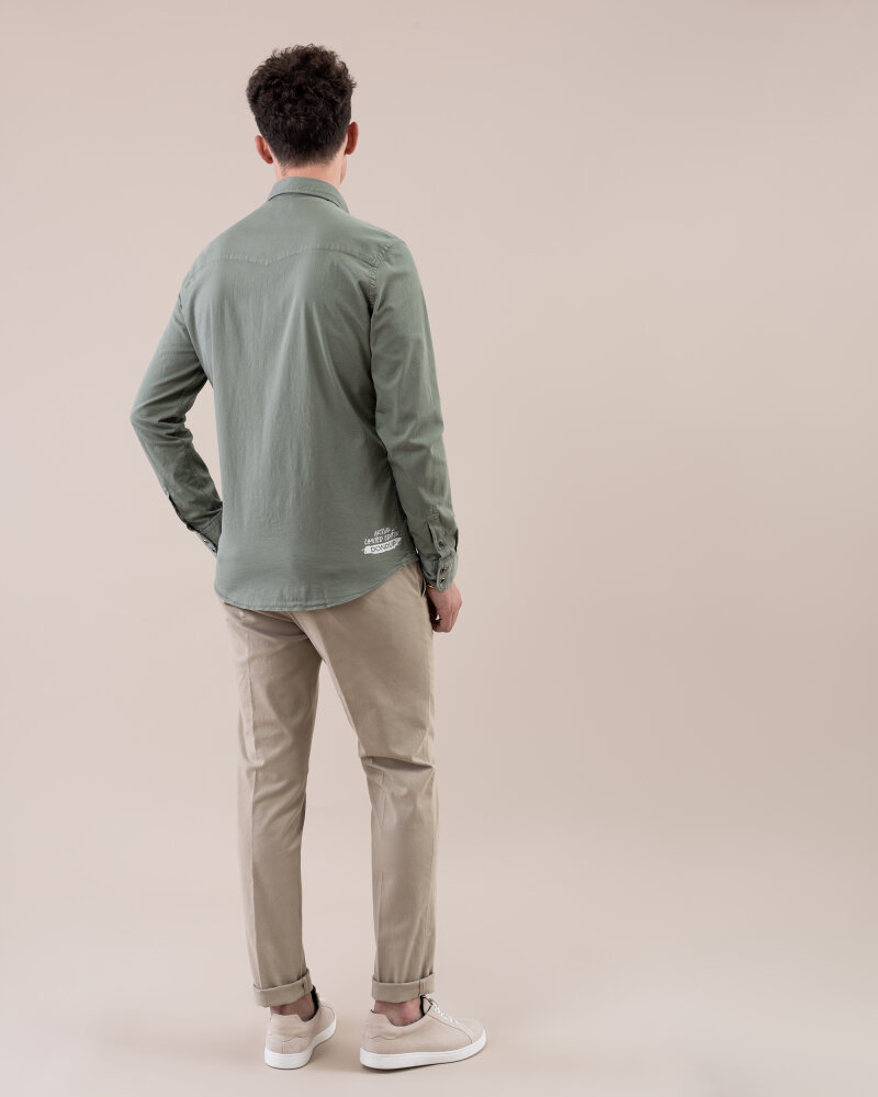 Spodnie Dondup UP235_GS0036U_026 beżowy - fot:7