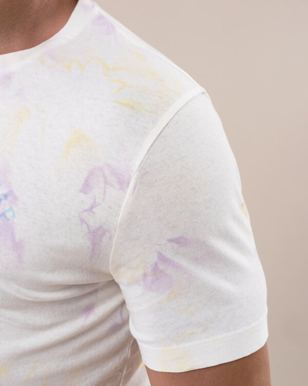 T-Shirt Dondup US288_JF0230T_UNI kremowy