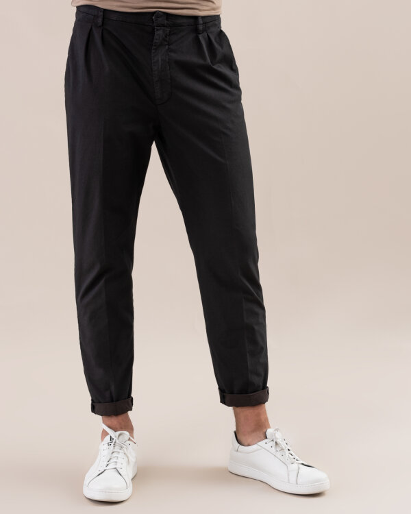 Spodnie Dondup UP508_CS0087U_999 czarny